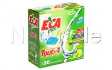 Eca - Lavastoviglie pastiglie di lavaggio 30 pezzi all in one