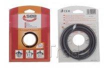 Seb - Afdichtingsrubber snelkookpan 8l - inox - diam 245mm - actua / authentiqua / minute - 790142