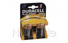 Duracell plus - mn1300 - lr20 - d -1.5v - bl. 2st - MN1300