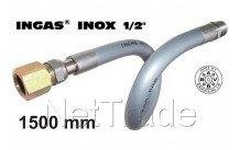 Universeel - Inox ingas 1500mm 1/2