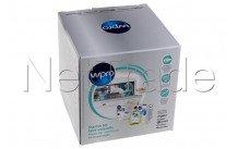 Wpro - Kit di manutenzione con 1 confezione di compresse + 1 scatola di sale - 484010678192