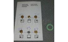 Beko - Kit iniettori gas butano - g30 - 4431910057