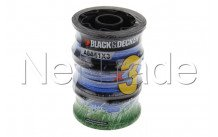 Black&decker - Bobina di filo per tagliaerbe  a6441 - A6441X3XJ