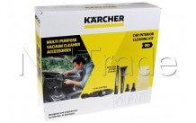 Karcher - Kit detersivo per pulire macchina (7 pezz) per aspirapolvere e - 28633040
