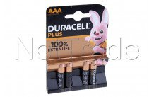 Duracell mn2400 / aaa plus 100% extra life - 12734