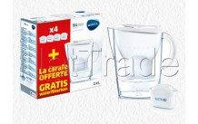 Brita - Caraffa brita fill&enjoy marella cool white + 4 maxtra+ filtro - 1040843
