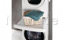 Wpro - Kit di sovrapposizione tra lavatrice e asciugatrice sks101 - 484000008436