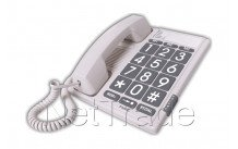 Fysic - Telefono con tastiera grande - FX3100