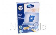 Wpro - Stofzak miele microvezel mi130-mw - fjm - gn - 4 stuks - 481281718628