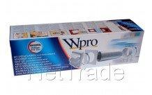 Wpro - Volledig kit voor dampkap diam 120/125 - 481281719166