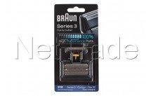 Braun - Combi pack flex integral 505- seria 3-31b- nero - 81387938