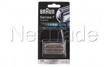 Braun - Pack lamine di rasatura pulsonic serie 7-70s-argento - 81387979