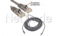 C2g cables - Cavo utp 1, 5mhz 350 m-cat5e rj45 (m)-grigio protezione - 83142