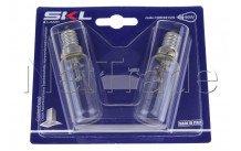 Universale - Lampada cappa t25l -40w - e14 - 2pcs