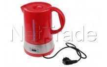 Tecnolux - Bollitore con scelta di temperatura , capacità 1.70l, potenza 1850w, colore rosso - PB17M1RT