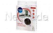 Wpro - Filtro carbone- tipo 47 - acm023 - kit 2pz - 484000008784