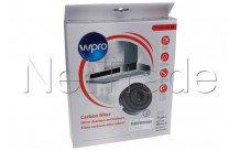 Wpro - Filtro carbone tipo 58  -set - 484000008782