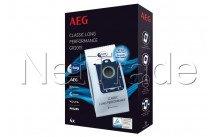 Aeg - Sacchetto aspirapolvere - gr201s - classic long performance - 4pz - 9001684746