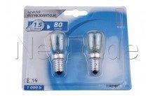 Cogex - Lampada  alogena - 15w - e14 - set 2pz - 489019