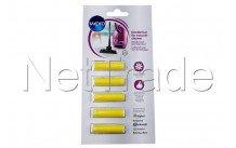 Wpro - 5 cartucce per aspirapolvere limone - 484000008624