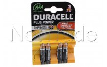 Duracell plus - mn2400 - lr03 - aaa - 1.5v - bl.4s - MN2400