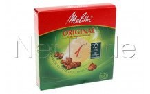 Melitta - Filtre a caffe' - ronde - n°1 - diam. 94mm - 6629281