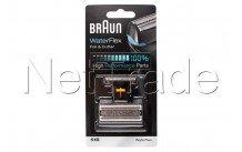 Braun - Combi pack-360 ° completo e-51b-nero - 81469220