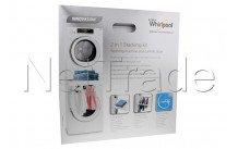 Whirlpool - Kit di sovrapposizione tra lavatrice e asciugatrice - 484000008397